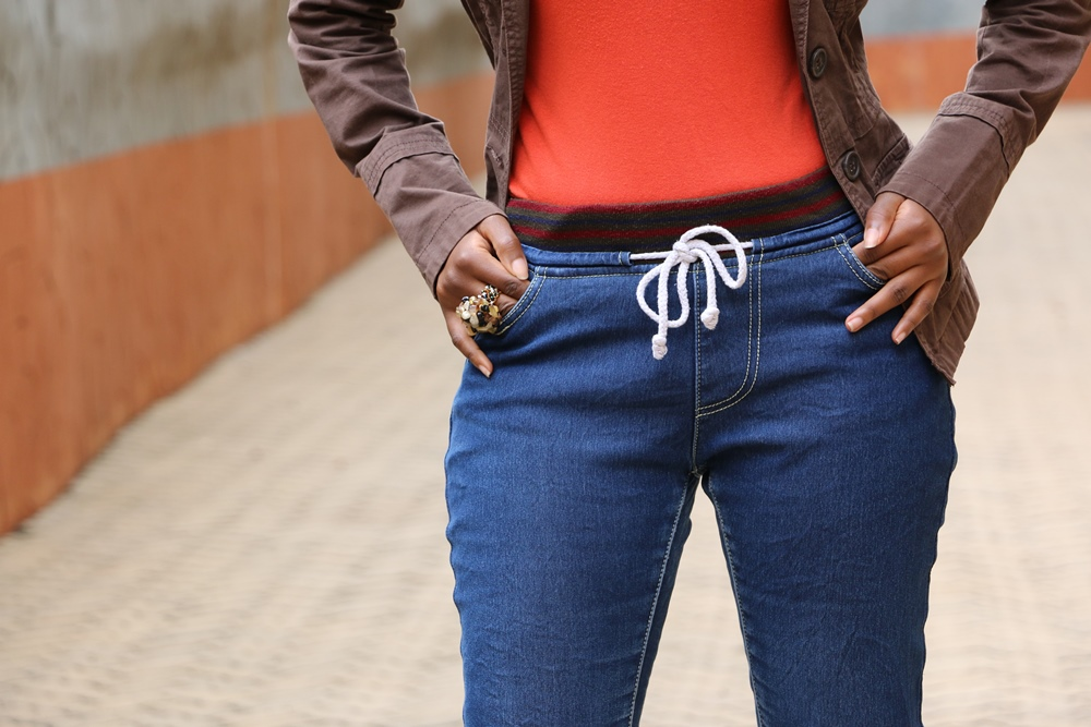 Denim & Color: A Much Needed Positive Jolt.
